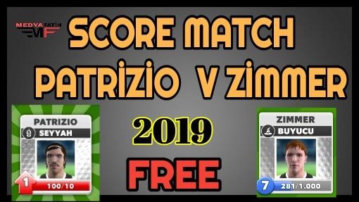 Score Match Patrizio v Zimmer