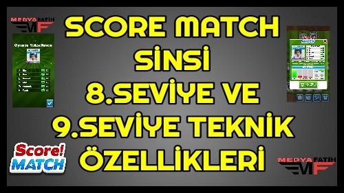 Score Match Sinsi