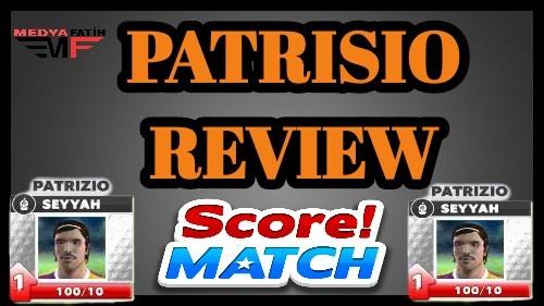 Score Match Patrizio 2019