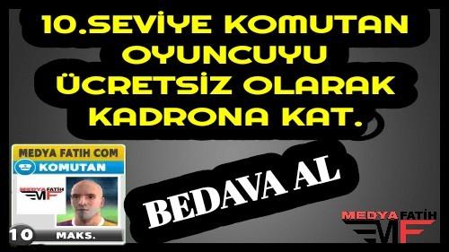 Bedava Score Match Komutan
