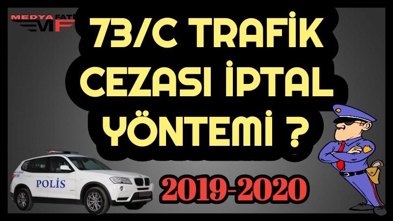 73/C trafik cezası