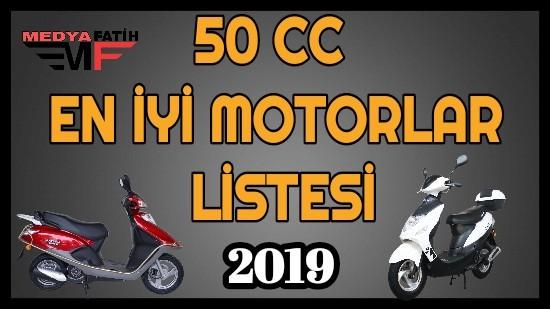 50 cc En İyi Motorlar
