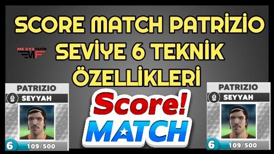 Score Match Patrizio 6