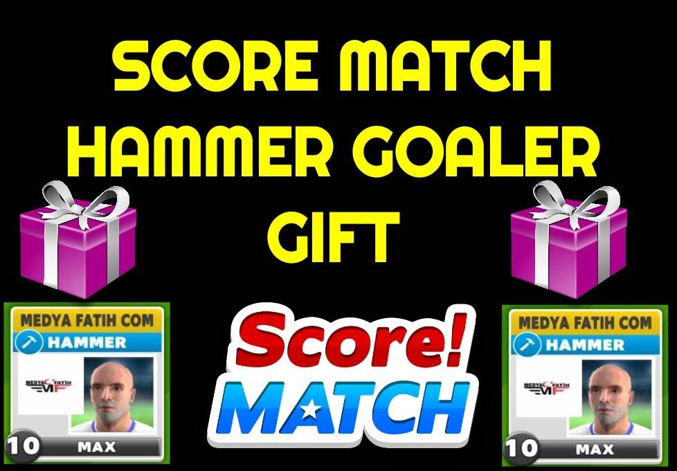 Score Match Game Free Hammer Striker