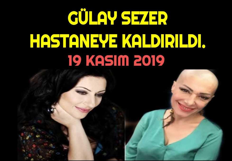 Ünlü şarkıcı Gülay Sezer hastaneye kaldırıldı