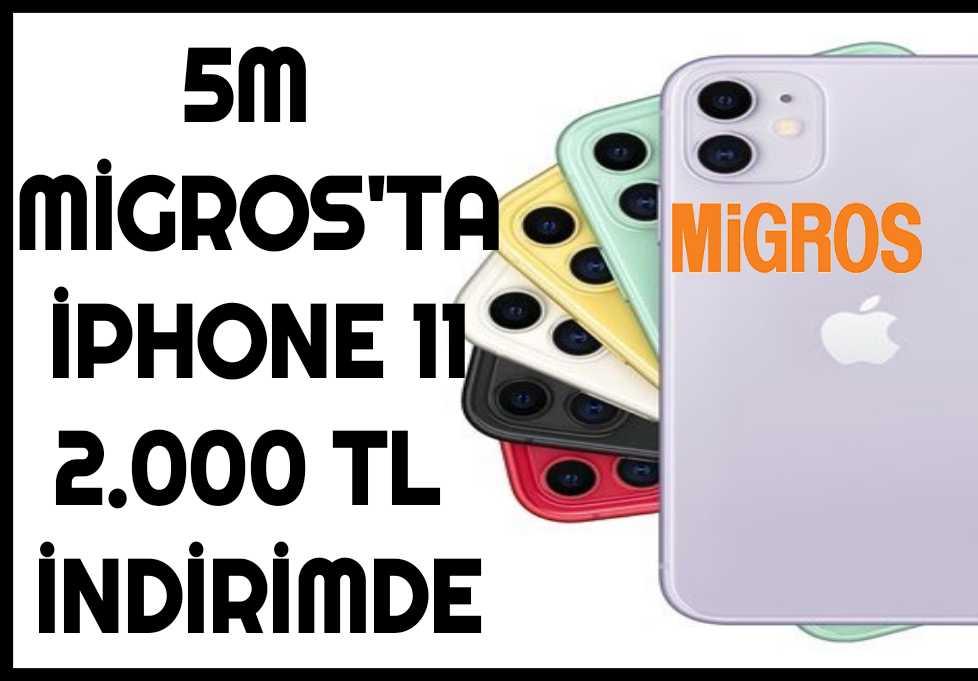 5m Migros İphone 11