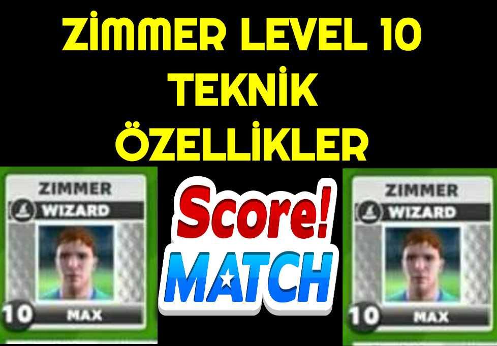 Score Match Zimmer Level 10
