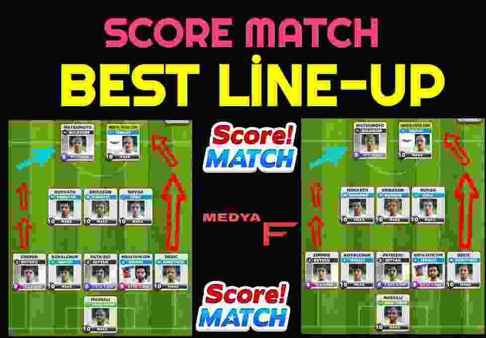 Score Match Best Line-Up