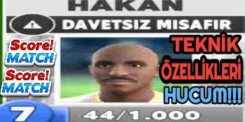 Score Match Davetsiz Misafir