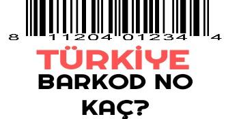 Türkiye Barkod Kodu