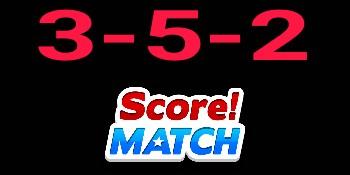 Score Match 3-5-2