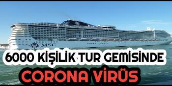 İtalya Gemi Corona Virüs