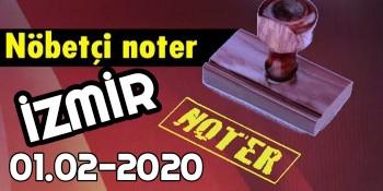 İzmir Nöbetçi Noter 1 Şubat