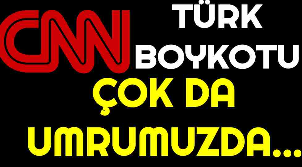 CHP Cnn Türk Boykot