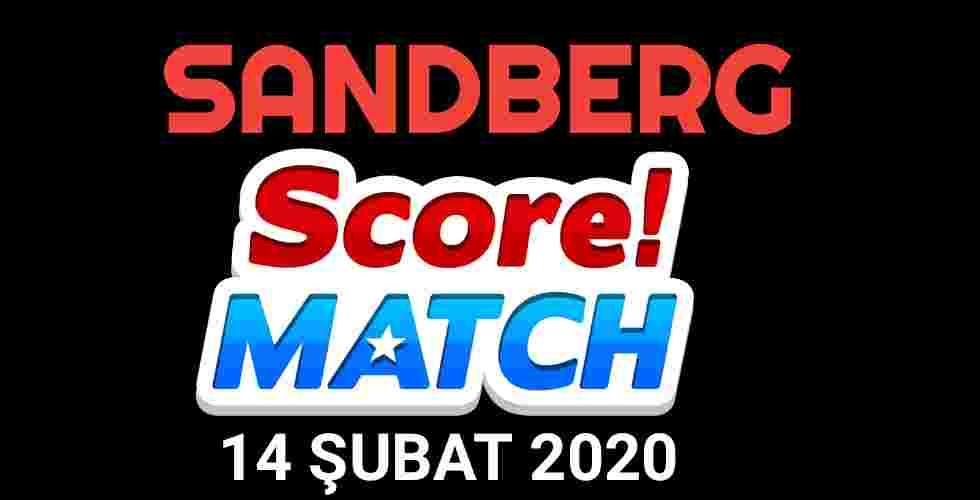Score Match Sandberg