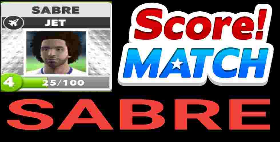 Score Match Sabre