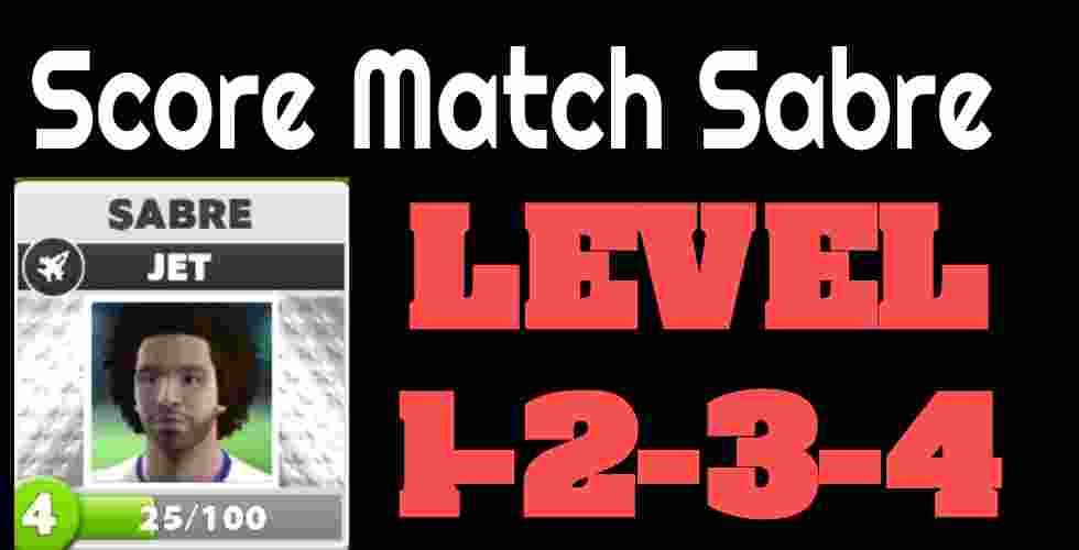 Score Match Sabre Jet