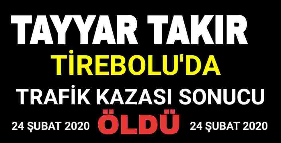 Tayyar Takır Tirebolu