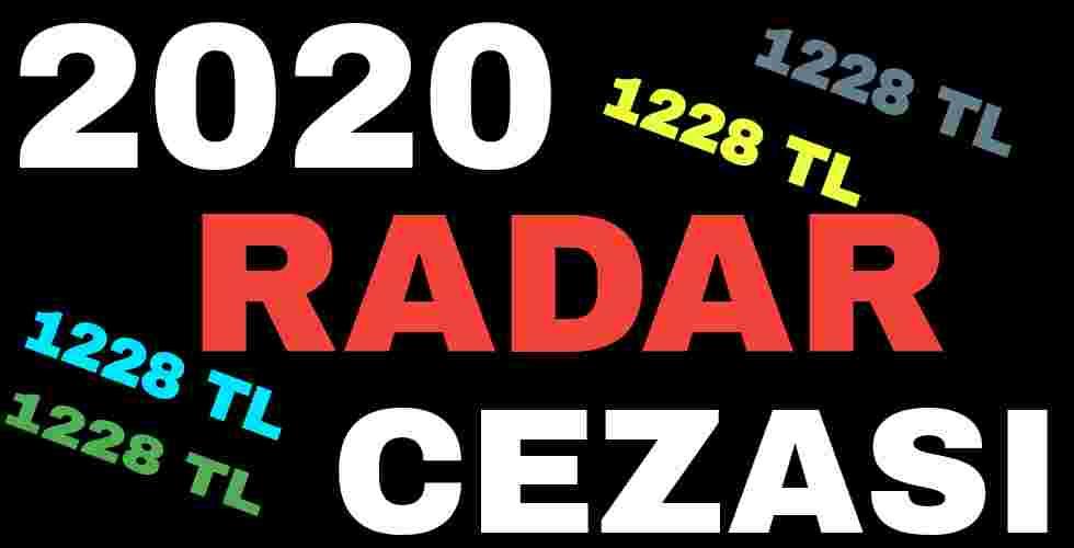 2020 Radar Cezası