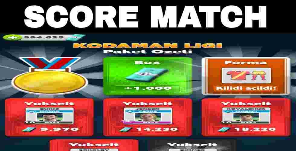 Score Match Kodaman Ligi