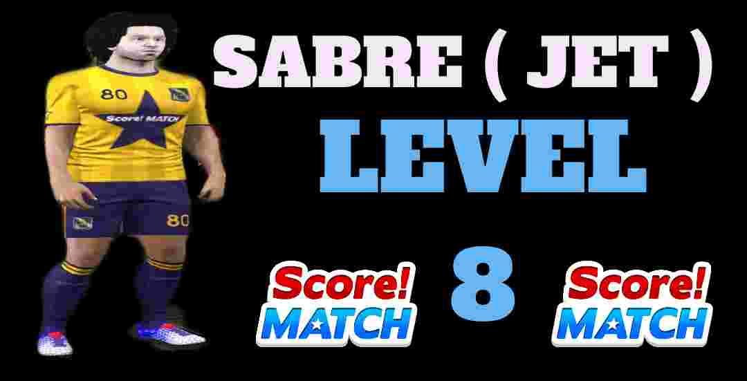 Jet Sabre Level 8