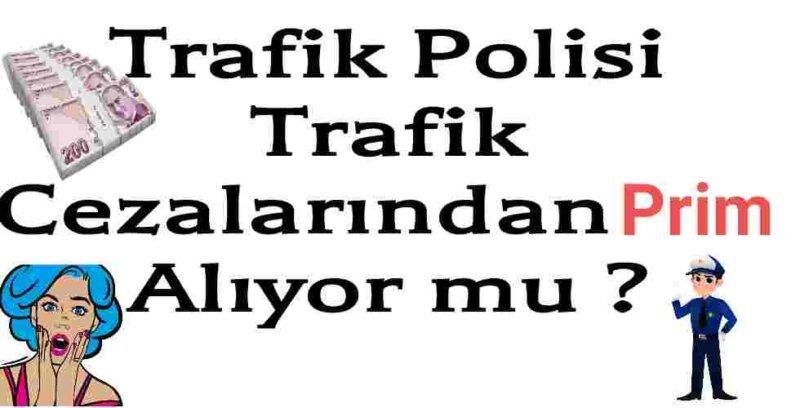 Trafik Polisi Prim Alıyor mu