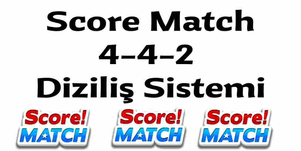 Score Match 4-4-2