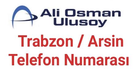 Ulusoy Arsin Telefon Numarası