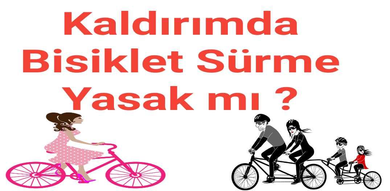 Kaldırımda Bisiklet Sürme Yasak mı ?