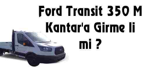 Ford Transit 350M Kantar