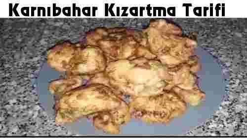 KARNIBAHAR KIZARTMASI