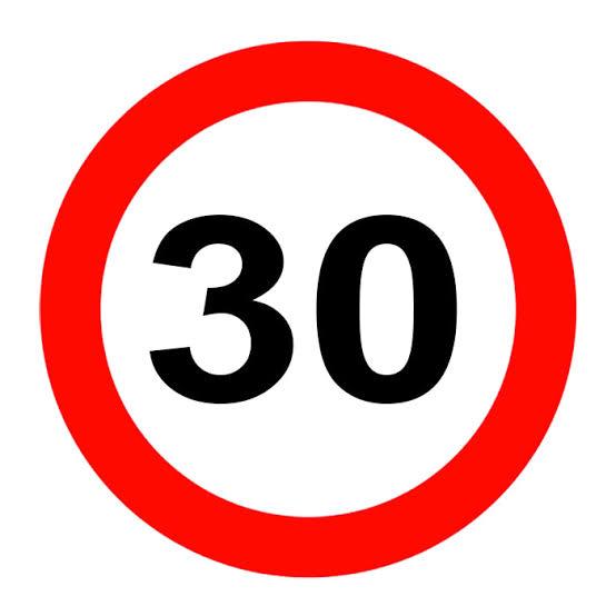 Şehir İçi Yasal Hız Limitleri 30 Km