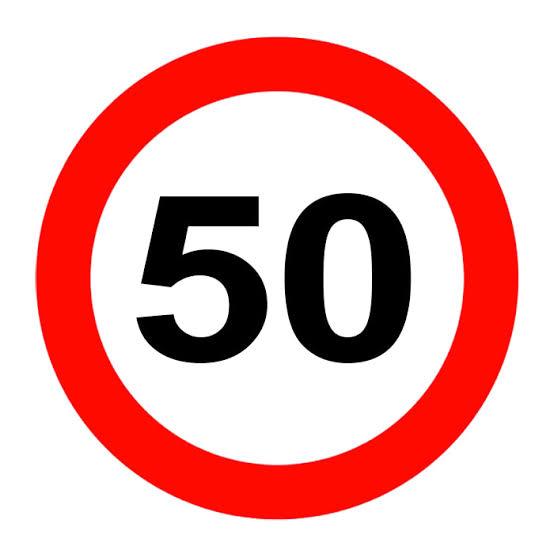 Şehir İçi Yasal Hız Limitleri 50 Km