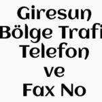 Alucra Emniyet Telefon ve Fax Numarası