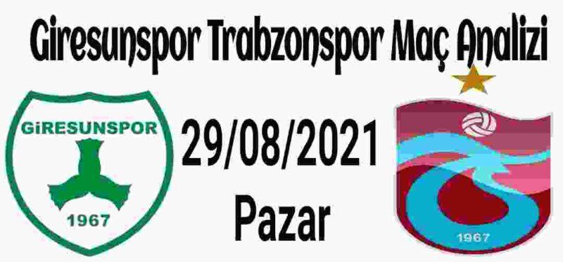 Giresunspor Trabzonspor Maç Analizi