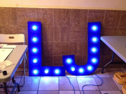 Photo of LJ letters