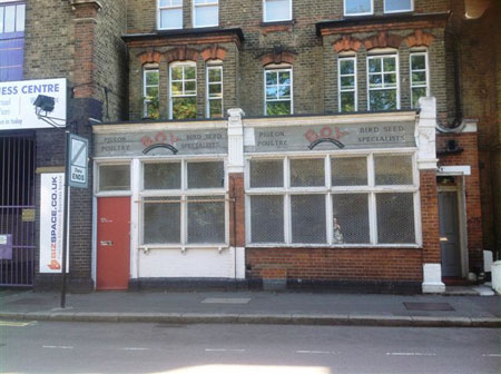 BOY shopfront in Loughborough Junction