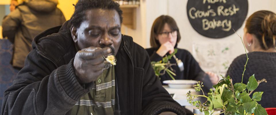The Loughborough Farm Community Cafe is open on Thursdays and Fridays