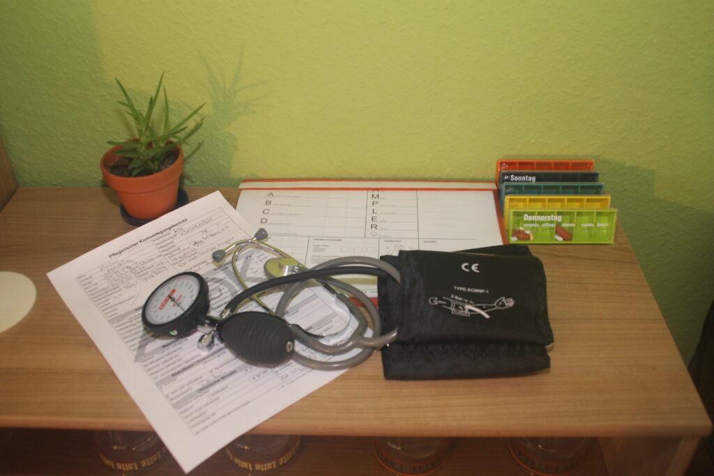 Notfälle in der Pflege, Notfälle in der Arztpraxis