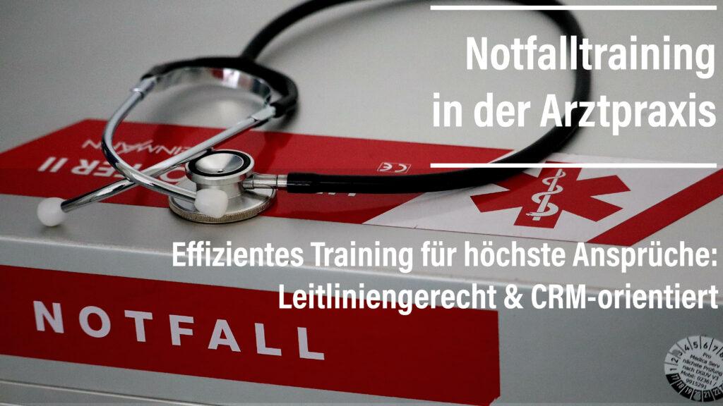 Die leitliniengerechte Versorgung von Notfallpatienten ist oberstes Ziel bei Akutereignissen in der Arztpraxis. Das Notfalltraining ist auf Ihre Bedürfnisse abgestimmt und bietet effektives Training auf höchstem Niveau.