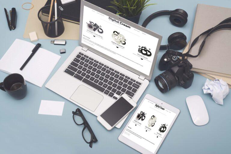 Digital Cream. Prowadzenie działań marketingowych. Strona internetowa. Pozycjonowanie. Social Media.