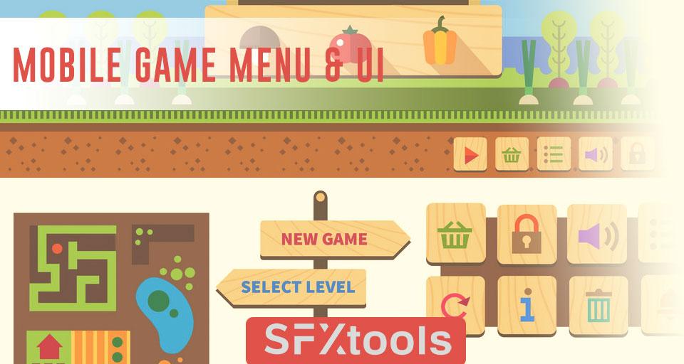 Mobile Game Menu & UI