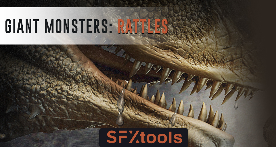 Giant Monsters: Rattles