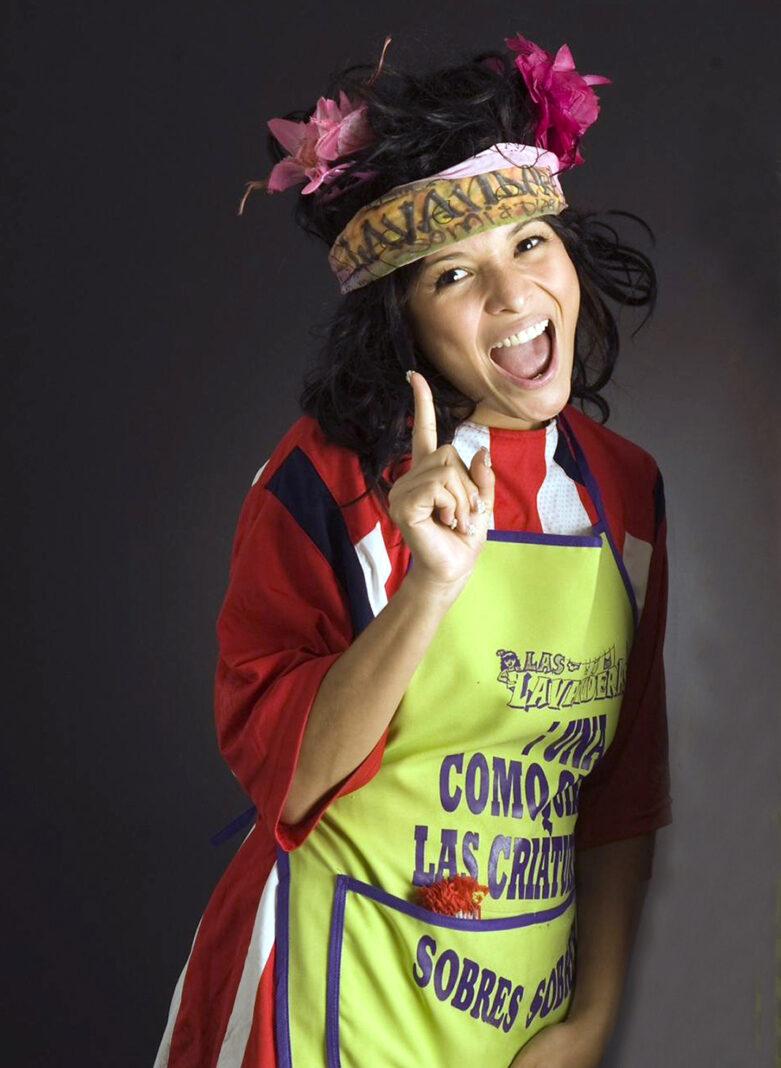 Karla Luna, la Morena de Las Lavanderas, nunca dejó de sonreírle a la vida