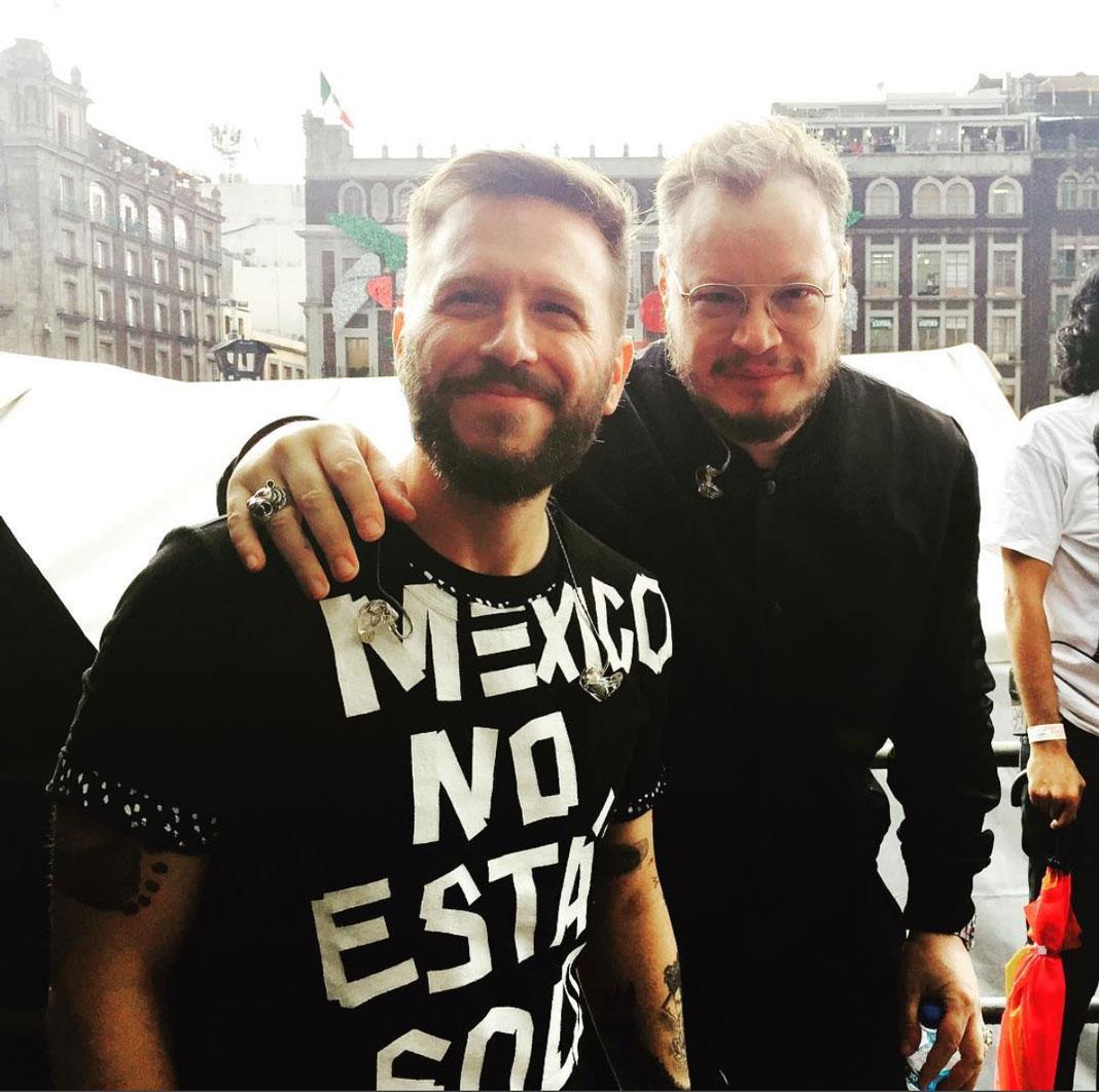 El dueto Sin Bandera dijo presente para ayudar a los más necesitados