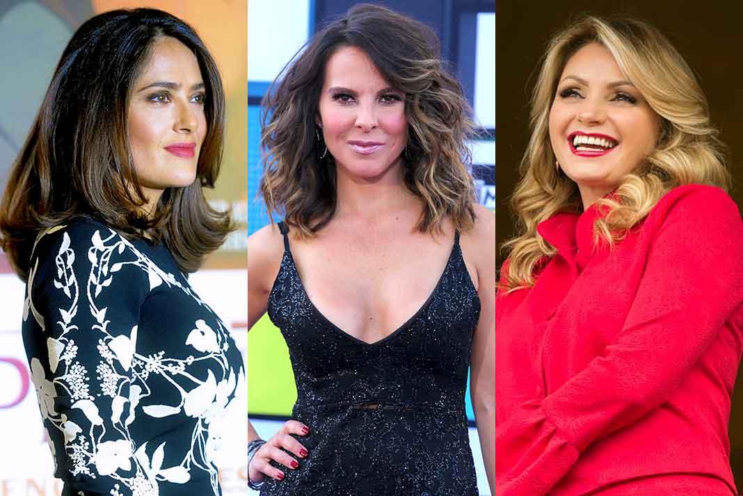 Salma Hayek, Kate del Castillo y Angélica Rivera fueron favorecidas en Televisa por sus novios-ejecutivos, según Alejandra Ávalos
