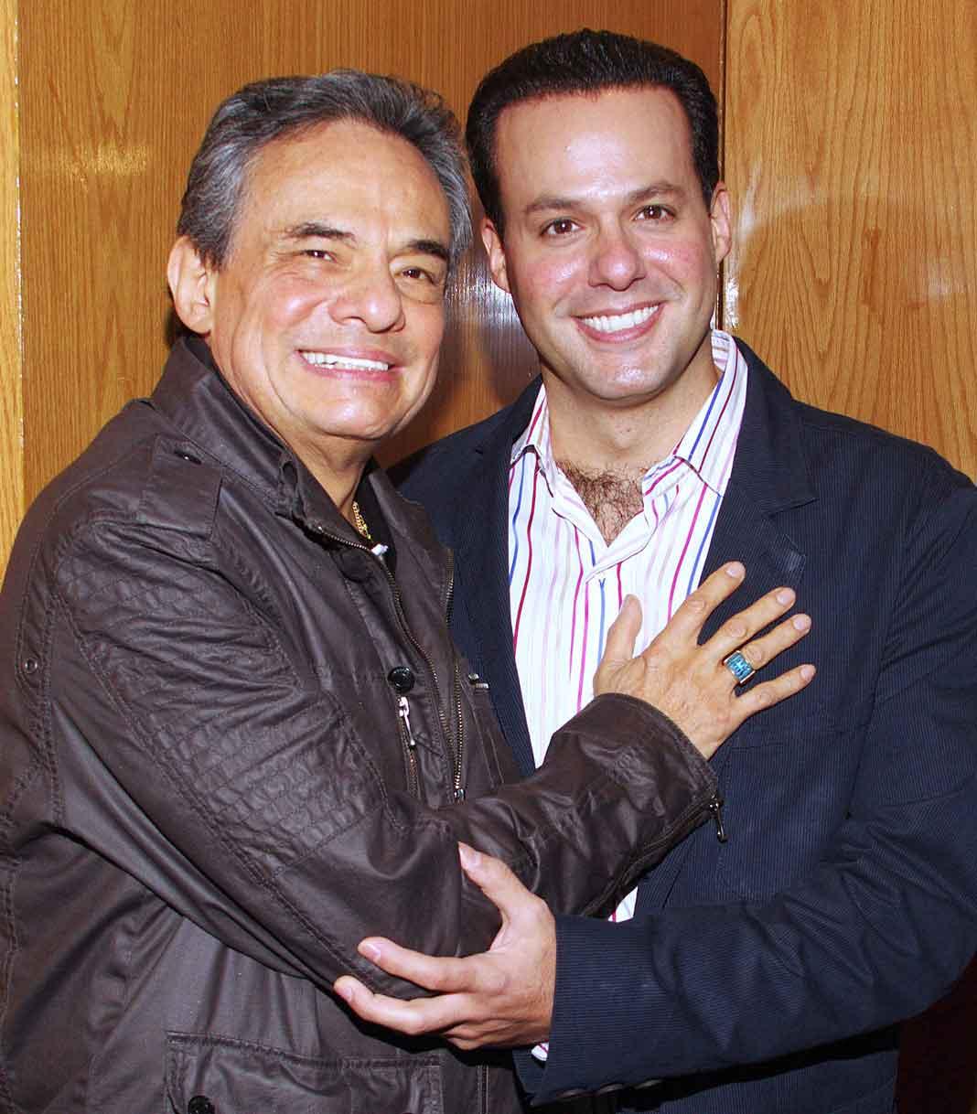 José José y su hijo José Joel hace algunos años