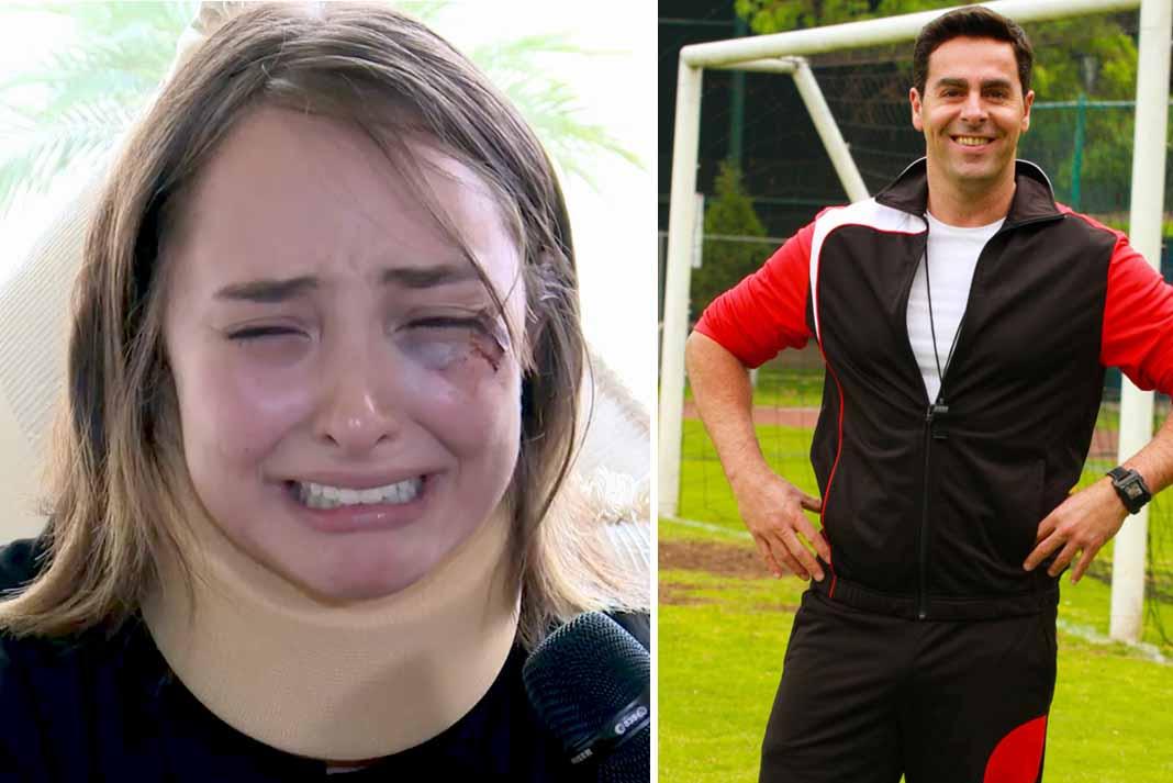 La actriz dio su testimonio desgarrador de cómo fue atacada por el actor tras revelar que la violó