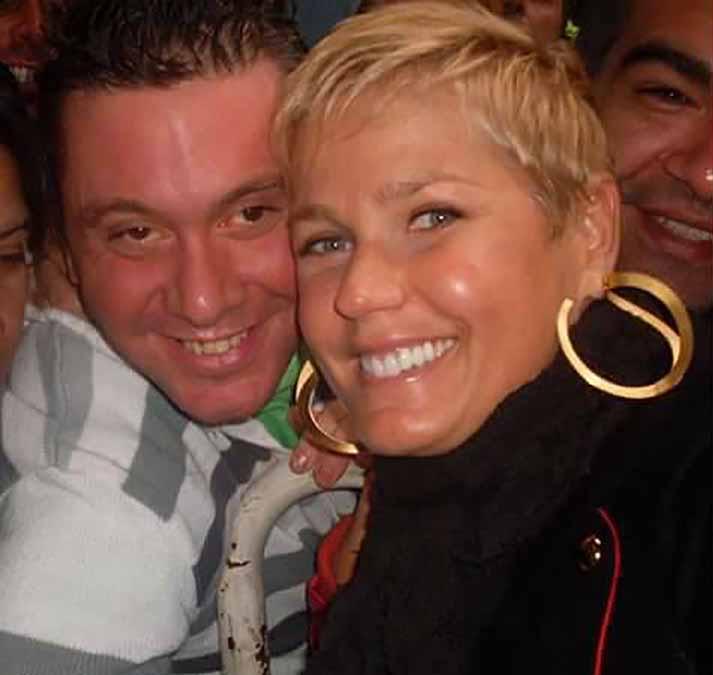 En el pasado, Xuxa se había fotografiado con el fanático