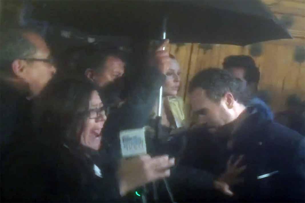 La reportera de El Gordo y la Flaca fue de las que vivieron el incidente muy de cerca